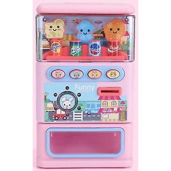 Simulated Puzzle Drinks Beverage Vending Machine Toy For Kids