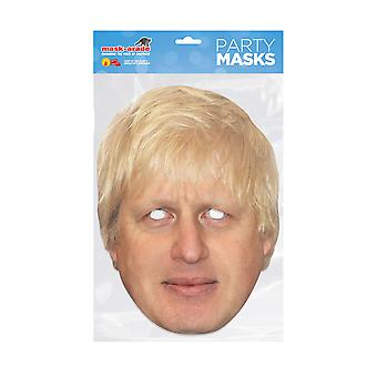 Mask-arade Boris Johnson Julkkikset Party Face Mask