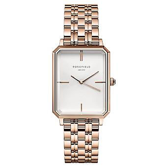 Rosefield Elles Watch for Women Analog Quartz with Stainless Steel Bracelet OCWSRG-O42