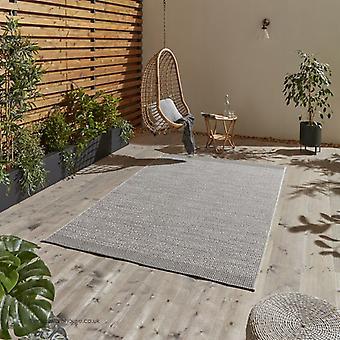 Stitch Grau schwarz Teppich