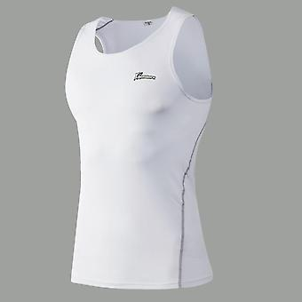 Men Sports Training Vest- Quick Dry Breathable Running Vest, Basketball Fitness