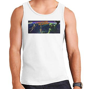 Creature From The Black Lagoon Nightmare Horror Men's Vest