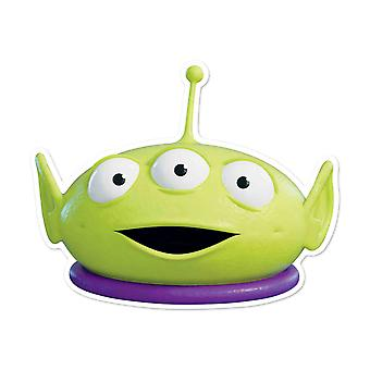 Little Green Man Officiel Disney Toy Story Enfant Taille 2D Carte Party Masque