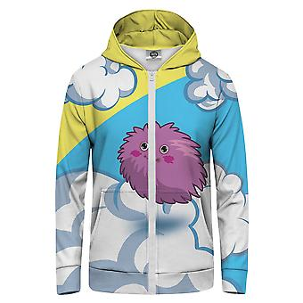 Pan GUGU & Miss GO Ball Z Futra Bluza z kapturem Kangaroo Zip Up