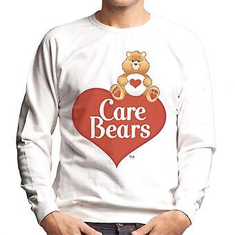 Hoito Karhut Logo Tenderheart Bear Men's Collegepaita