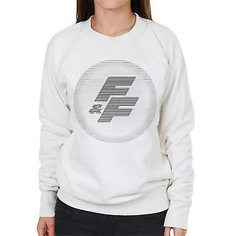 Nopea ja raivoisa FF-logo Naiset's Collegepaita