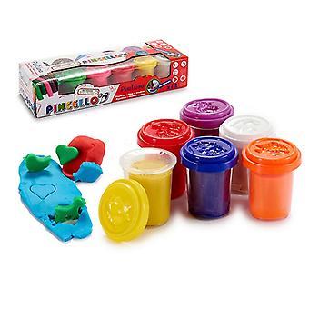 Modelando jogo de argila (12 peças)