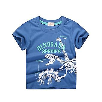 Animal Print Dinosaur T Shirt For, Cartoon Kids Tshirt Clothes