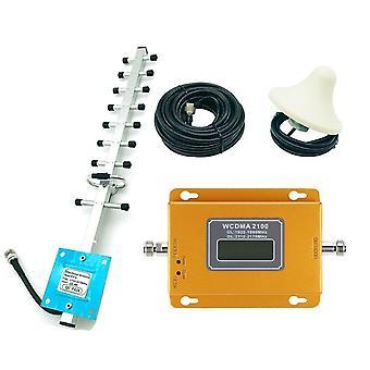 Cdma 3g 4g 2100mhz Lcd 3g Mobilní telefon Signál Booster Opakovač Zesilovač