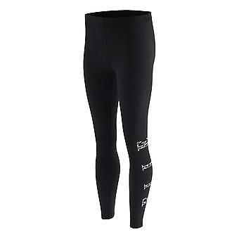 Elle Cheetah Logo Youth Kids Girls Legging Tight Trouser Black