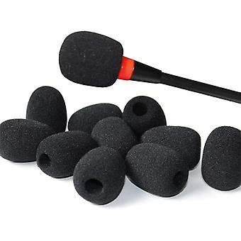 Microphone Sponge Foam - Covers Replacement Telephone, Headset, Mic And