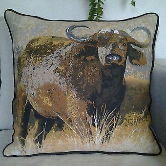 Buffalo Printed Decorative Throw Pillow Cover