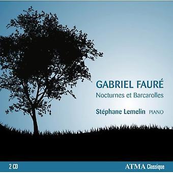 Faure/Lemelin - Nocturnes Et Barcarolles [CD] USA import