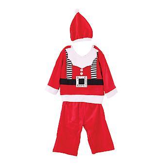 Christmas Shop pojkar Santa kostym