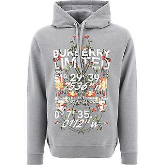 Burberry 8037542a2142 Men's Grey Cotton Sweatshirt