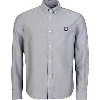 Kenzo Tiger Wappen Oxford Shirt