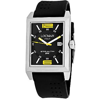 Locman Men's Classic Black Dial Watch - 240BKYL1BK