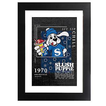 Slush Puppie Retro Frame 1970 Framed Print