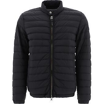 Woolrich Woou0396mrut25423989 Men's Black Nylon Down Jacket
