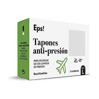 Antitrykshætte (størrelse L) 2 enheder