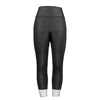 Todos Worthy Hunter McGrady Petite Leggings Faux Leather Black A387466