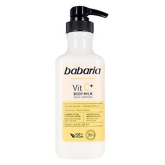 Body Milk Babaria Vitamin C Vegan (500 ml)