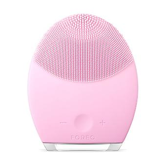 LUNA 2 Anti-Aging Cleansing Brush for Normal Skin 1 unit (Pink)