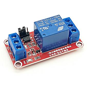 Dc 12v 1 Channel Relay Module With Optocoupler Shield Board
