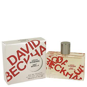 David Beckham Urban Homme Eau De Toilette Spray av David Beckham 1.7 oz Eau De Toilette Spray