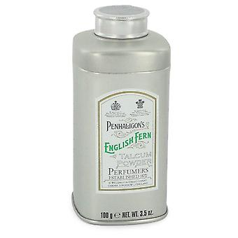 English Fern Talcum Powder By Penhaligon's 3.5 oz Talcum Powder
