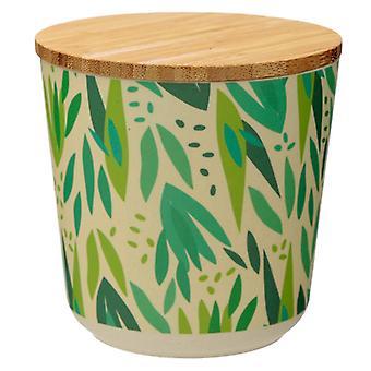 Pequeno salgueiro de armazenamento composto de bambu