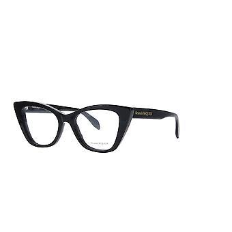 Alexander Mcqueen AM0305O 001 Mustat lasit