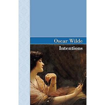 Intentions by Oscar Wilde - 9781605124957 Book