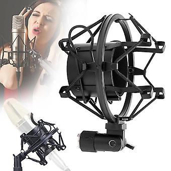 Professional Microphone Shock Mount Adjustable Spider Recording Metal Bracket