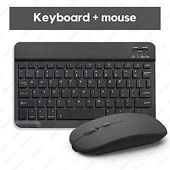 Bluetooth Keyboard And Mouse For Apple - Teclado Ipad Xiaomi Samsung Huawei