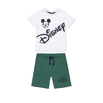 Alouette Boys' Blouse Set With Print And Shorts