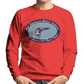 Pan Am The System Of The Flying Clippers Men's Sweatshirt