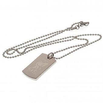 Liverpool Champions Of Europe Engraved Dog Tag & Chain