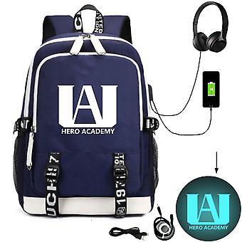 My Hero Academia satchel Eromanga teacher Fate student school bag anime travel bag
