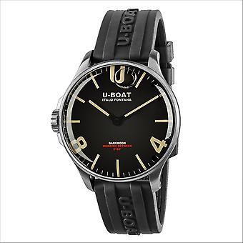 U-Boat 8463-A Darkmoon 44 SS Wristwatch