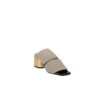 Proenza Schouler | Metallic Block Heel Mules