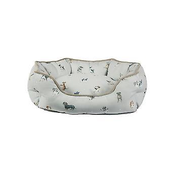 Wrendale tegninger liten hunden seng