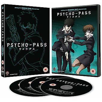 Psycho-Pass - Täydellinen sarja yksi kokoelma DVD