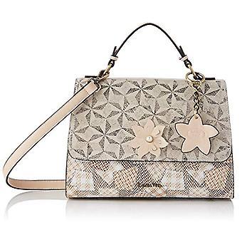 Laura Vita 4233, Shoulder strap, Bag with Handle. Woman, Beige, Medium