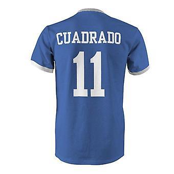 Juan sebastian cuadrado 11 colombia country ringer t-shirt