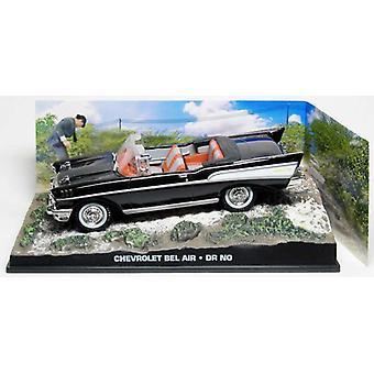 Chevrolet Bel Air modelo fundido a troquel coche de Dr James Bond No