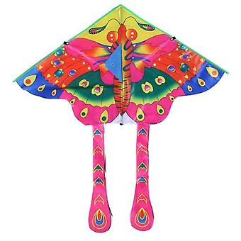 Butterfly Kite Cartoon Insect Pattern Foldable Outdoor Sports Kids