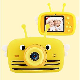 Bee yellow portable full-hd 1080p digital mini camera for kids child az954