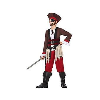 Traje para Crianças Pirata (5 Pcs)