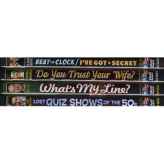 TV Game Shows of the 50's [DVD] USA import
